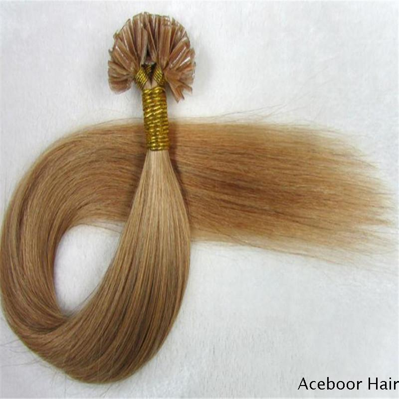 U tip v tip i tip nail tip remy human hair indian hair aceboor best quality soft smooth 100 indian hair remy human hair nail i tip hair extensions pmusecretfo Image collections